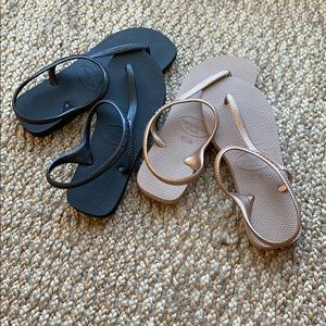 Lot of Havaianas Sandals